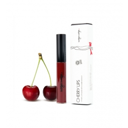 Cherry Lips: Gloss de buze natural cu extract de cirese