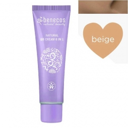 BB Cream bio 8-in-1, Beige (ten mediu)
