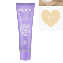 BB Cream bio 8-in-1, Fair (ten deschis)